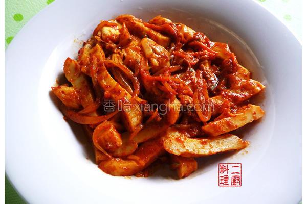 韩式泡菜甜不辣