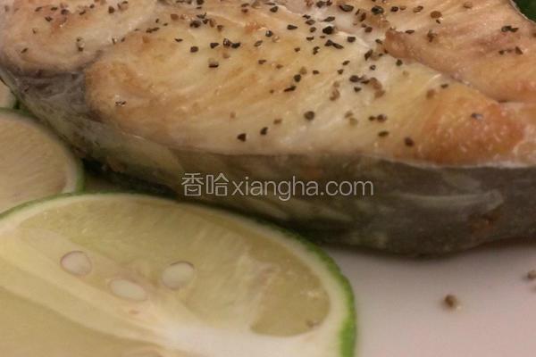 香煎柠檬土魠鱼