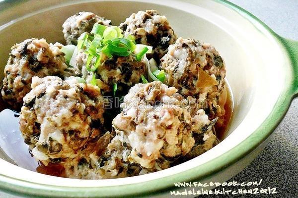 梅干菜肉丸子