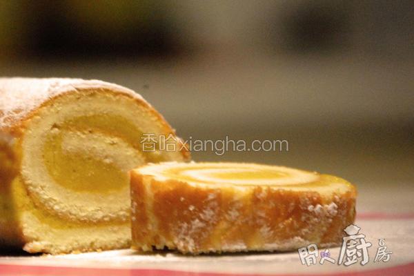 芒果雪糕蛋卷