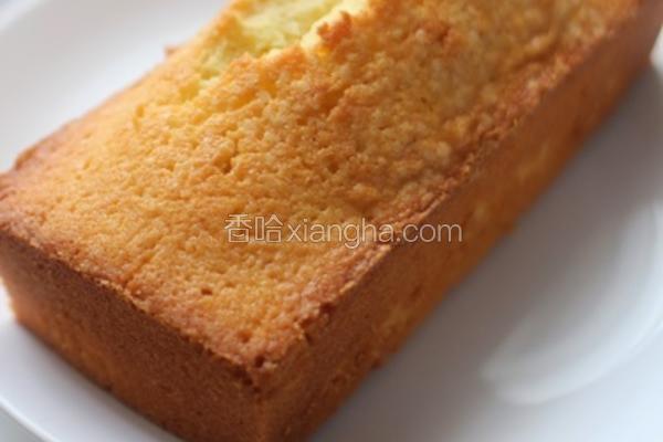 柠檬牛油蛋糕