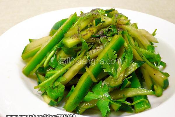 北京风绿沙拉