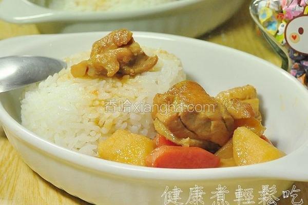 日式马铃薯烧鸡肉