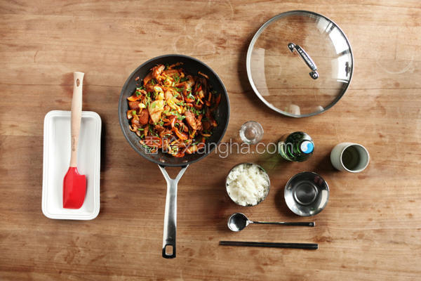 辣炒韩式猪肉泡菜