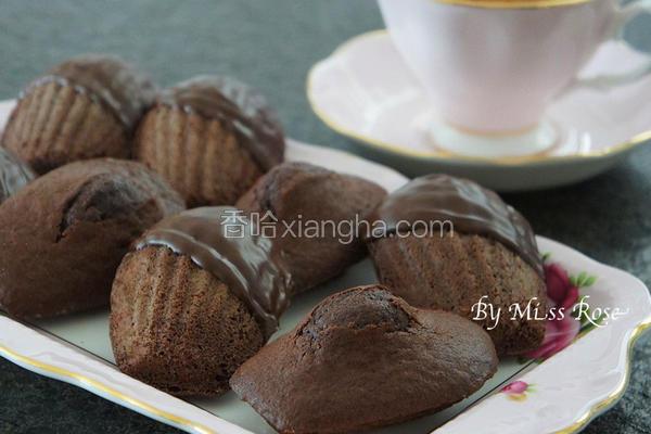 巧克力玛德莲蛋糕
