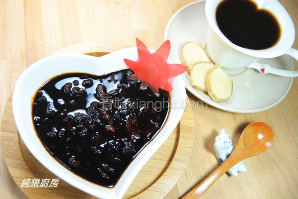 生姜桂圆黑糖蜜