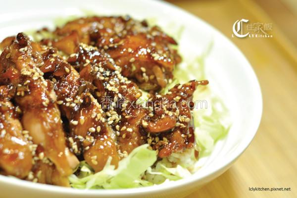 日式照烧鸡盖饭