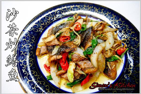 沙茶炒鳝鱼