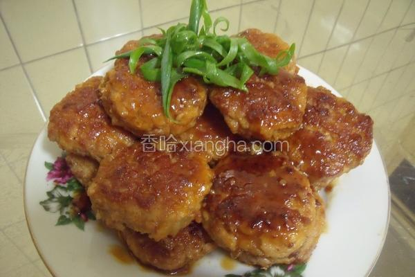红烧豆腐肉饼
