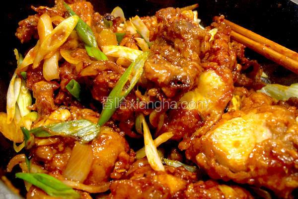 韩式辣酱鸡