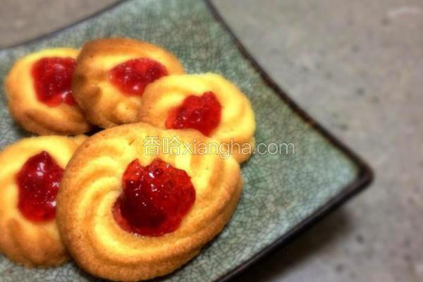 果酱甜心饼