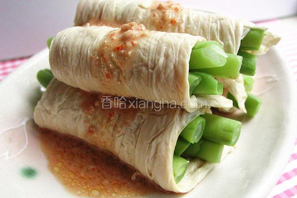 腐乳豆包四季豆