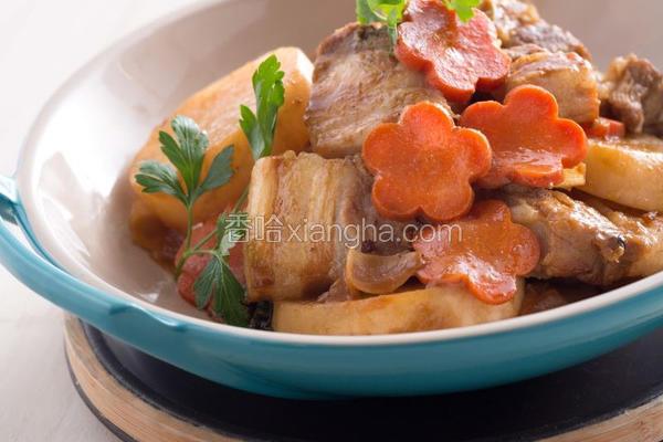 豆瓣酱焖猪软骨