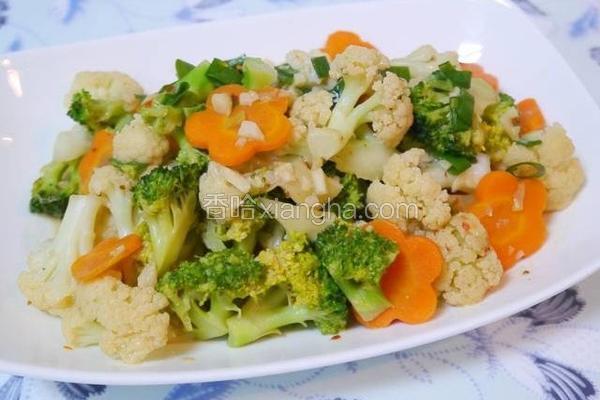 豆腐乳烧花菜