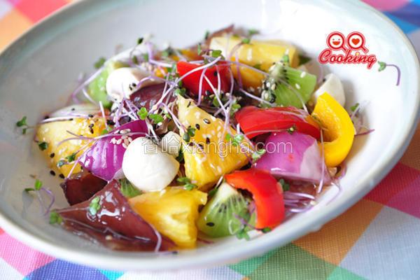 泰式缤纷蔬果沙拉