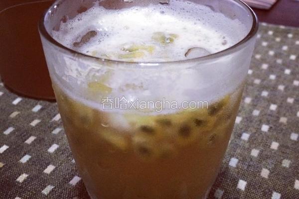 百香蜂蜜绿茶