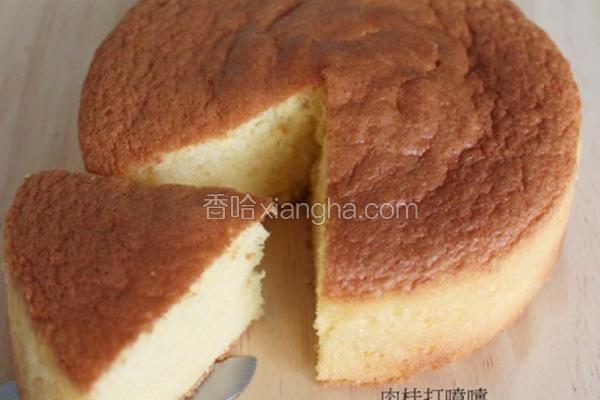 基本海绵蛋糕