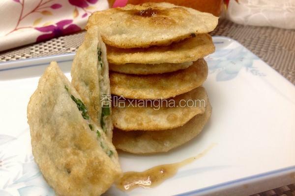 韮菜海鲜煎饼