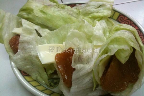 生菜年糕卷