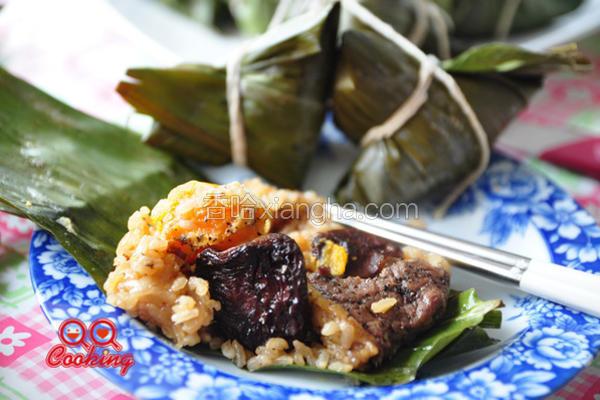 黑胡椒牛排粽