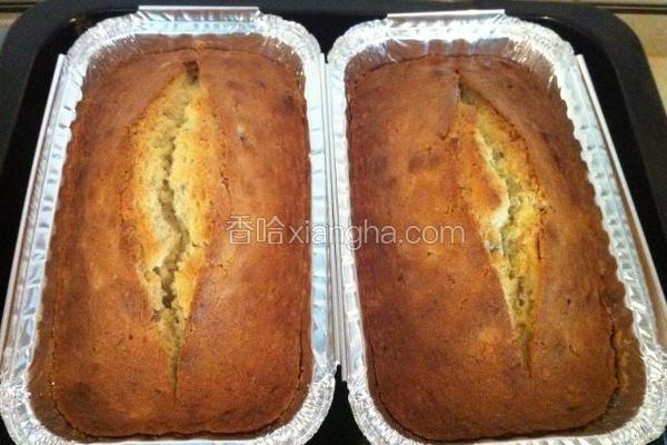 香草栗子磅蛋糕