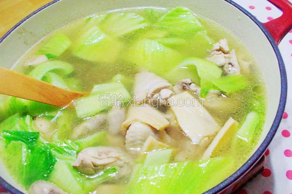芥菜鲍鱼鲜鸡汤