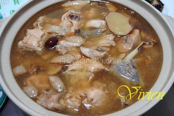 私房麻油鸡汤