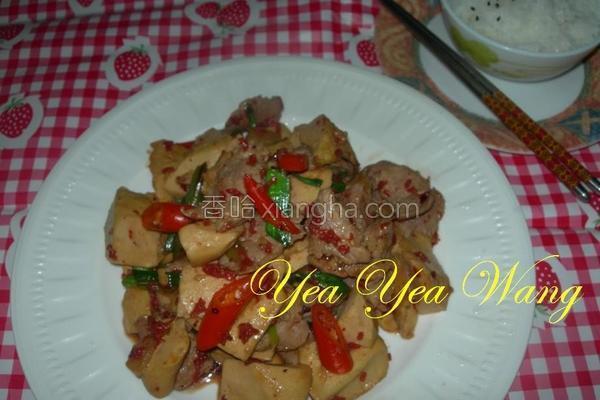 红麹酱爆豆干片