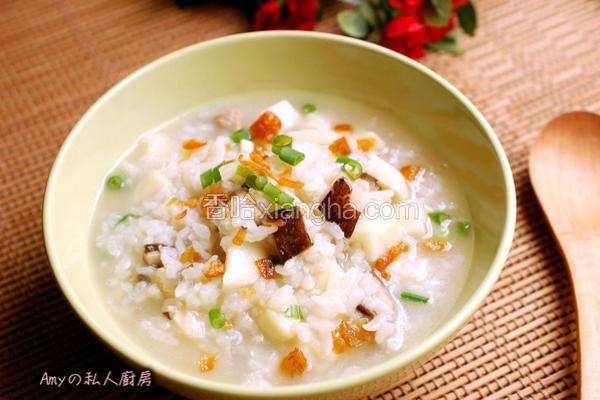 香菇竹笋粥