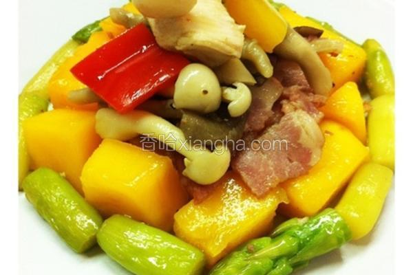 芒菇菇鸡肉沙拉
