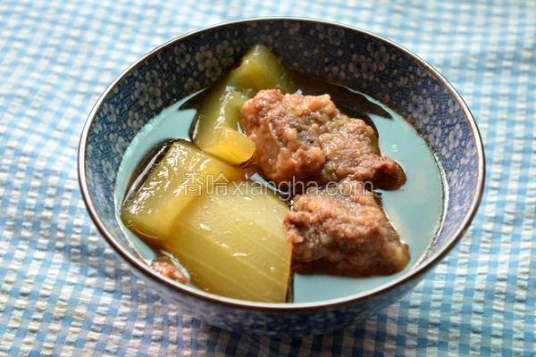 翠玉排骨酥汤