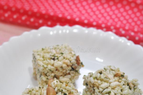 海苔花生米果