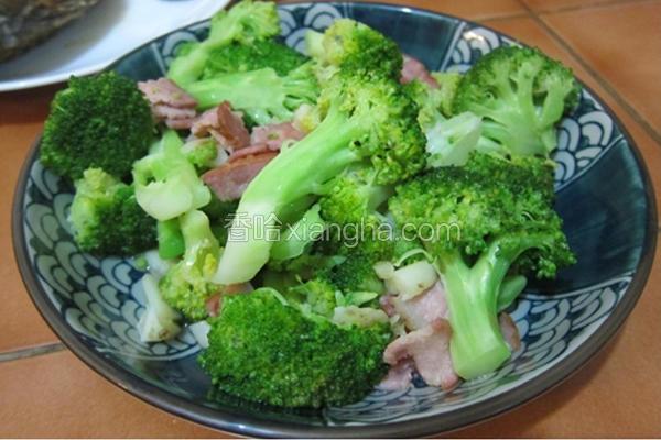 培根绿花椰菜