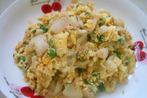 韩式泡菜炒蛋