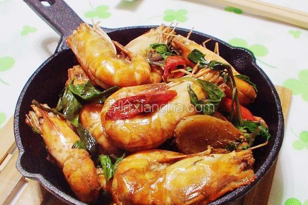 三杯泰国虾