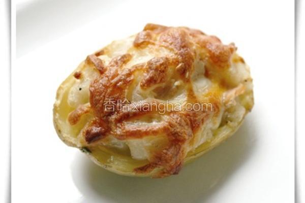 焗烤鲑鱼马铃薯