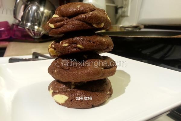 {双巧克力饼干