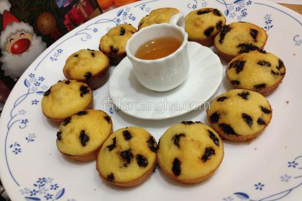 蜂蜜豆渣小松饼