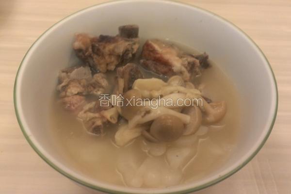 苦瓜排骨菇菇汤