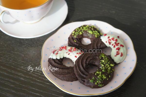 巧克力奶酥圈