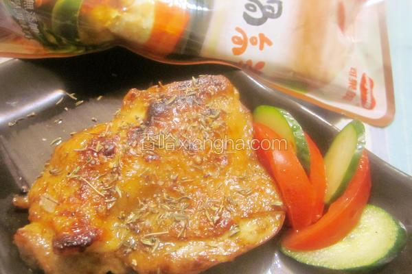 蜜汁咖哩脆皮烤鸡