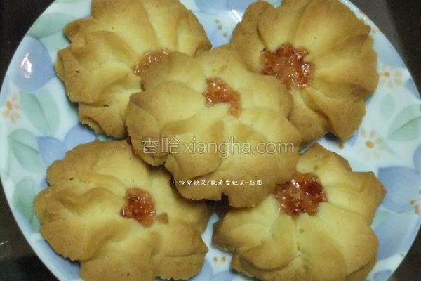 香草小花小西饼