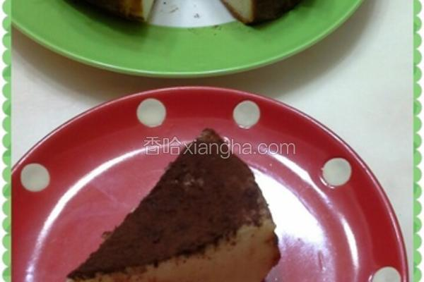 简易热烤起司蛋糕