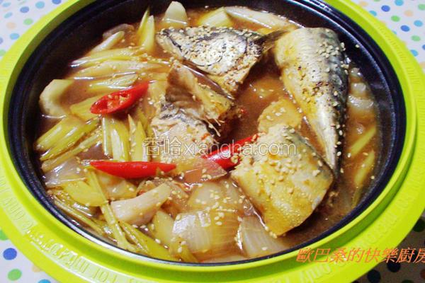 微波料理卤鲭鱼