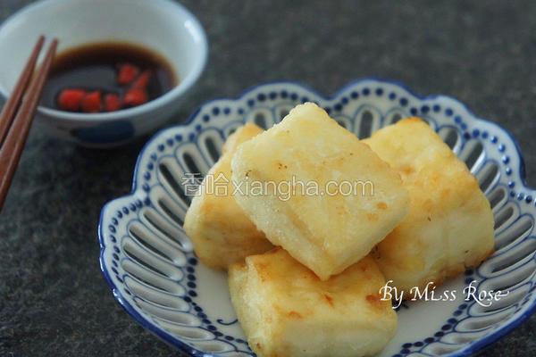 简易酥煎豆腐
