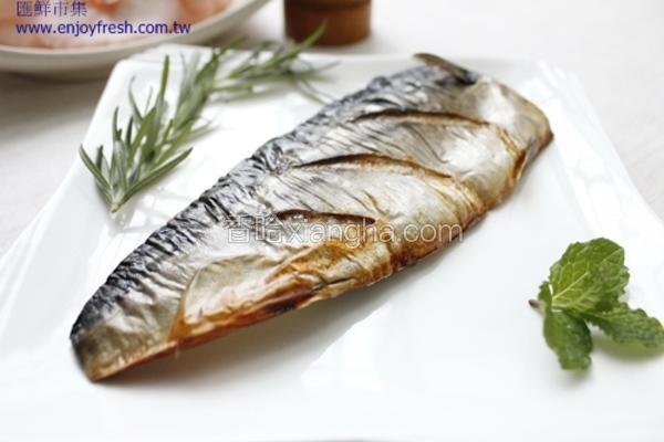 烤挪威薄盐鲭鱼片