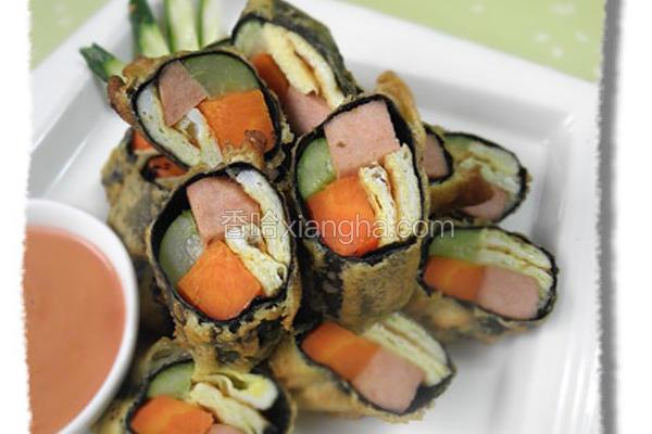 素食海苔卷