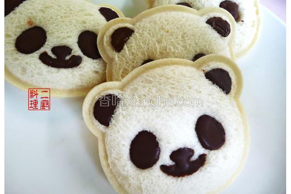 猫熊吐司模