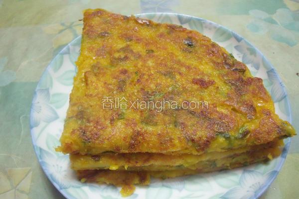 香芹南瓜煎饼