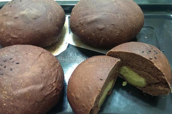 巧克力地瓜面包